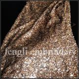 high density 5mm all cover sequin fabrics
