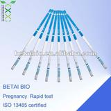 Good Quality/Price rapid Pregnancy medcial diagnostic test cassette ( Urine fertility test/ISO 13485 certified)