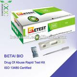 One step and rapid Buprenorphine medical diagnostic test strips (disposable BUP urine drug test/ISO 13485 certified)
