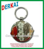 custom key ring in domed shape, good for gift and souvenir