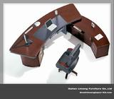 Modern Design Solid Wood Office Executive Desk