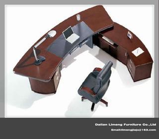 Modern Design Solid Wood Office Executive Desk