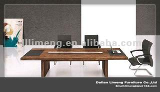 Modern style solid wooden office meeting table