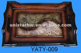new exquisite storage hand made wooden tray