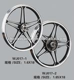 18 Inch Motorcycle Alloy Wheel