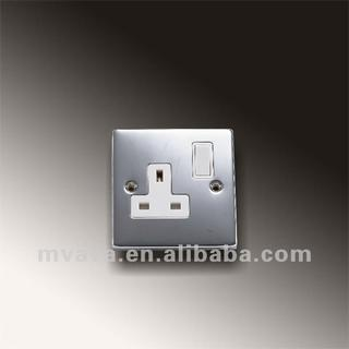 British Pressing Rang 13A Socket Outlets Double Pole Switch with 16MP Switch