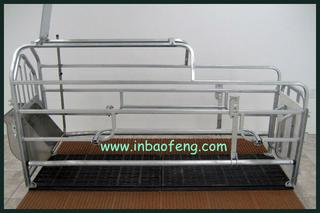 new design single farrowing pig individual crate E-317