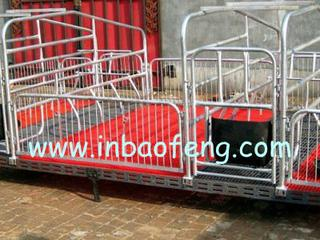 Adjustable farrowing crate for pig farm E-318