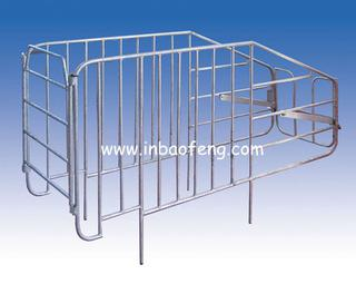 Galvanized tube Pig individual crate IN-E004