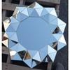 sloping glass framed mirror 3D mirror flower mirrors Decorative frame mirror frame