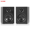 Active HIFI Wireless Home Pro Audio Bluetooth Speakers Wooden Louder Speakers Pair
