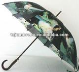 pretty little birds print umbrella