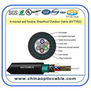 armored and double sheath cable