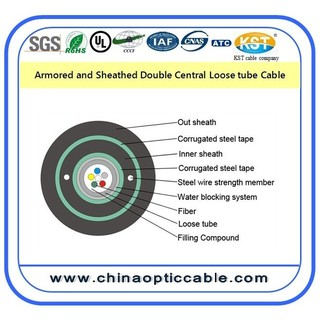 Central loose tube Fiber Optic Cable