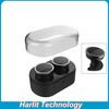 Harlit Bluetooth Headphones With Portable Charge Box Stereo HiFi Multi Channels