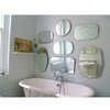 LE-025 High quality glass mirror furniture of silver mirror, clear silver mirror glass with ISO certificate
