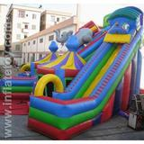 inflatable slide-inflatable slider