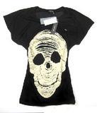 OEM Any Printing T Shirt Women Tops T-Shirt #Skull