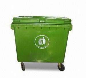 660L HDPE with UV Plastic Dustbin