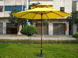 Wooden Patio Umbrella With Double Layer/Table Umbrella/Parasol/Sun Parasol