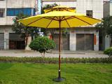 Wooden Patio Umbrella With Double Layer/Table Umbrella/Parasol/Sun Parasol