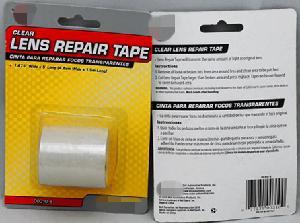 Quiet Clear Lens Repair Tape