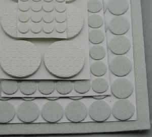 125 PCS Surface Protector Pads, Assorted Size and Material, White