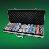 500PCS Poker Chip Set 4008