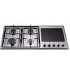 Chinese manufacture 5 burner stainless steel cook top