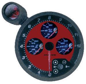 "5"" 4-in-1 Tachometer (8152BR)"