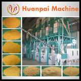 complete set corn flour machine maize flour mill with flour packing machine