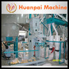 maize flour machine with automatic flour packing machine from China manufacturer