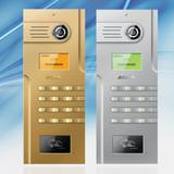 Video Door Station for Building Apartments (1302H/Cs)