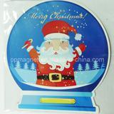 Rubber Magnet Print Santa Claus Merry Christmas