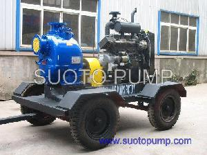 Self-Priming Diesel Water Pump Set