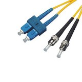 Fiber Optic Patch Cord SC/PC-ST/PC Singlemode Duplex 2meters