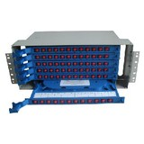 Fo Splicing and Distribution Unit, 72 Fiber Sc/St/FC/LC Adapters Compliant