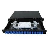 "Fo Patch Panel Sc Type 24port 19"" 1u Rack Mounted (Drawer Style, FC/ST/LC are available)"