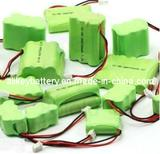 OEM 2.4V 3.6V 4.8V 7.2V 9.6V 12V NiMH Battery Packs