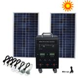500W Solar Panel Kit for Home (FS-S108, with 600W pure sine wave inverter)