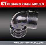 Male Elbow Connection pipe fitting mould