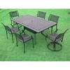 Cast Aluminum Garden Furniture-Rose Dining