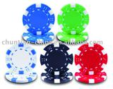 dice poker chip
