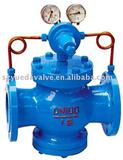 piloted pressure reducing valve