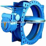 Stainless steel seated butterfly valve