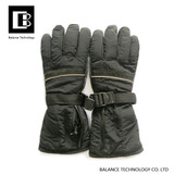 Reflective material heating gloves
