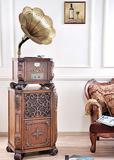 Classic gramophone, Radio, CD player, nostalgic phonograph