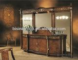 European luxury handmade exquisite design hotel bedroom sets,Hotsale,Hand carved and can be customized--BG90271
