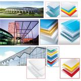 Polycarbonate Sheet PC Hollow Sheet UV Coated