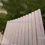 HIgh qulity transperant Polycarbonate Corrugated roofing Sheet